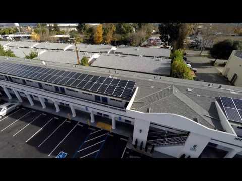 Motel 6 San Jose 60Kw Solar Install