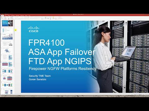 FPR4100 ASA App Failover + FTD NGIPS (2) Link resiliency - YouTube
