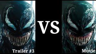 VENOM - Trailer #3 & Movie Voice Comparison