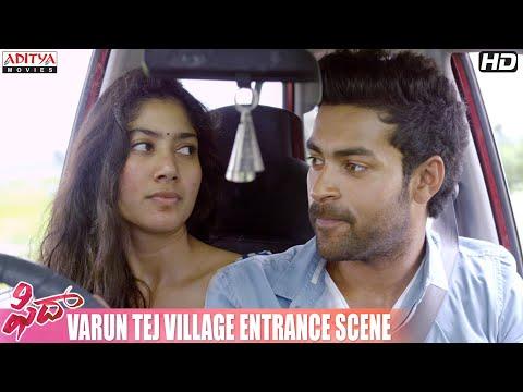 Fidaa Movie || Varun Tej Village Entrance...