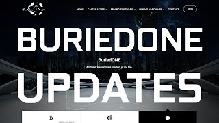 BuriedONE Bigger STUDIO! And Updates.