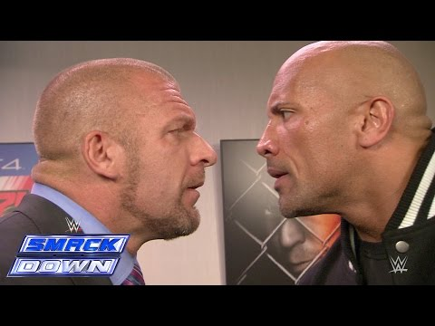 Thumbnail: The Rock and Triple H take an aggressive stroll down memory lane: SmackDown, Oct. 10, 2014