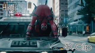 Deadpool 2 funny Scenes in Hindi | Deadpool vs Cable full battle in Hindi | Hindi HD
