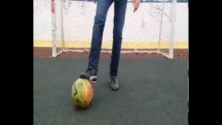 Обучение чеканке. Футбольный фристайл