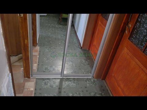 гардеробная двери полукругом