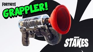 Fortnite GRAPPLER ITEM und GETAWAY GAMEPLAY | Fortnite Battle Royale