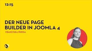 JD19DE - Der neue Page Builder in Joomla 4