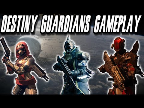 Destiny - NEW Titan, Hunter, and Warlock Guardian Gameplay from YouTube · Duration:  2 minutes 28 seconds
