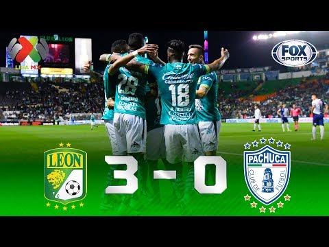 León - Pachuca [3-0] | GOLES | Jornada 3 | Liga MX