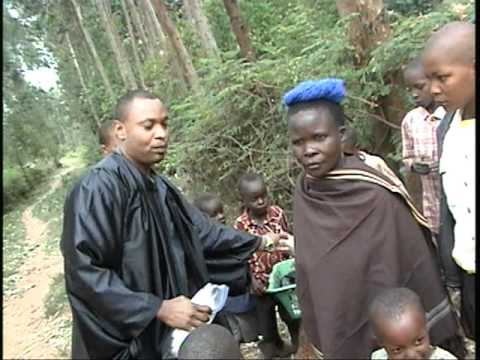 A Merchant woman in Kisii