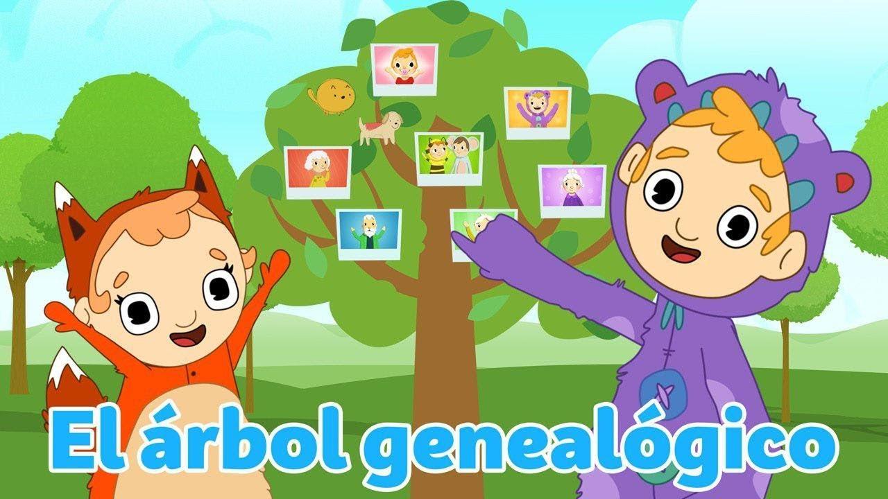 Plk Y Bu El Arbol Genealogico Dibujos Animados Para Niños Youtube