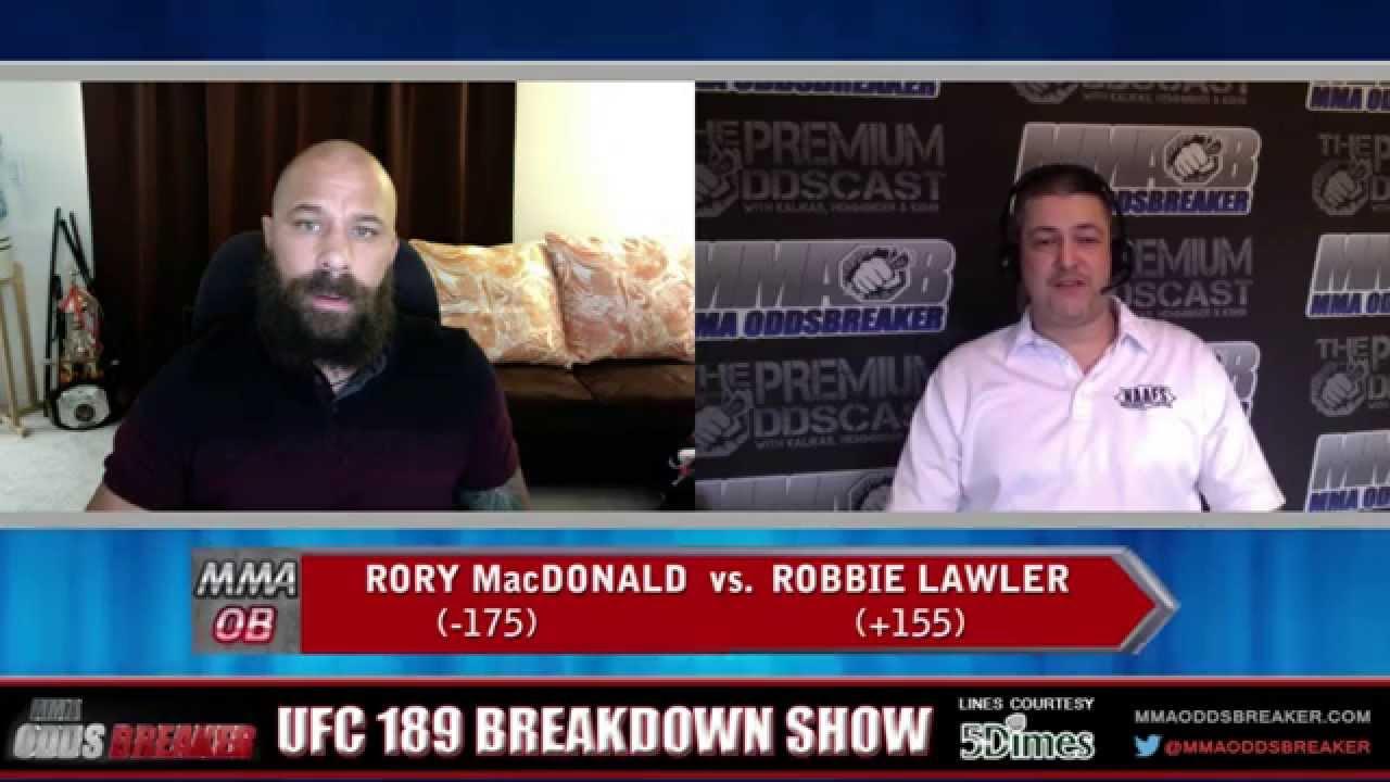 UFC 189 Breakdown Show w/ Frank Trigg and Nick Kalikas