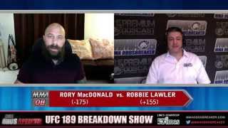 UFC 189 Breakdown Show w/ Frank Trigg and Nick Kalikas