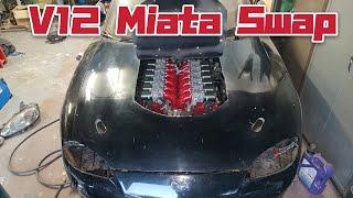 V12 Miata madness | Toyota V12 1gzfe