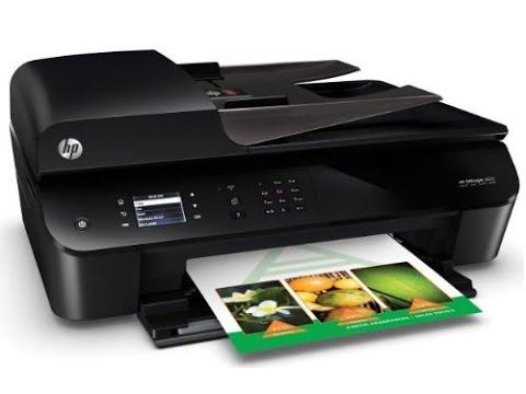 HEWLETT PACKARD 4630 WiFi Printer-Scanner-Copier-Fax ...