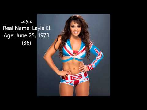 WWE Superstars Real Names And Ages 2014 (Female)