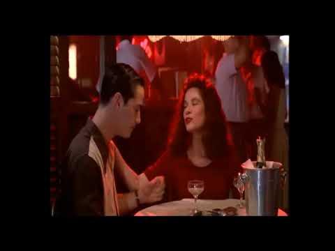 Barbara Hershey & Keanu Reeves  Dancing s