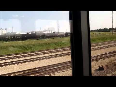 """""""California Zephyr"""" trip, Part 1 (Chicago-Denver)"""