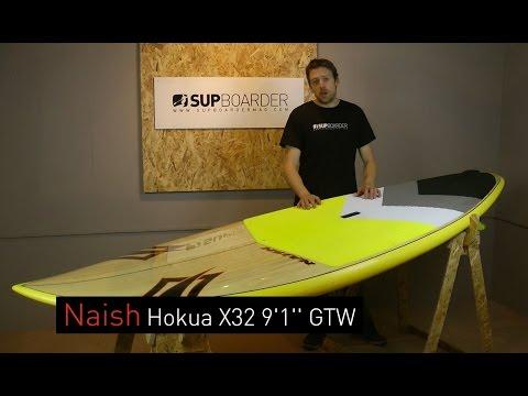 SUP Review – 2016 Naish Hokua X32 9'1'' / Surf SUP
