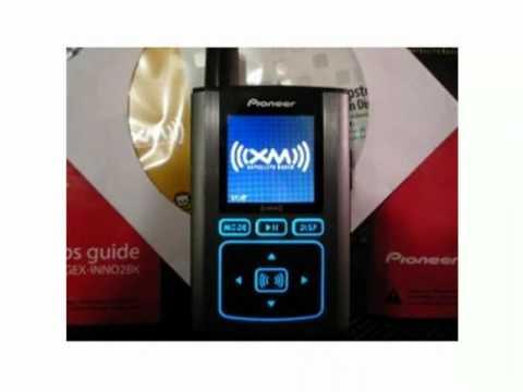 Pioneer GEX-INNO2BK Inno 2 Portable XM Satellite Radio with MP3 Capability