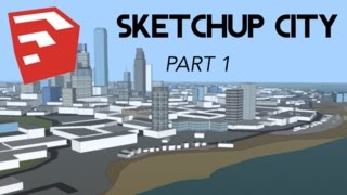 Speed-Building an Entire CITY on SketchUp - Part 1