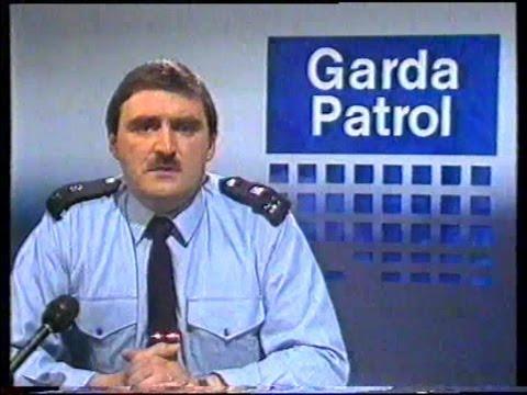 RTE GARDA PATROL 1986.