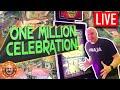 1 Million Celebration! 😱 Surprise LIVE Slot Play! 🎰 The Big Jackpot