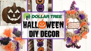 4 HALLOWEEN CRAFTS | DOLLAR TREE HALLOWEEN DIY CRAFTS