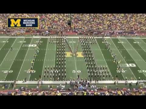 Pregame - The Michigan Marching Band (2014)