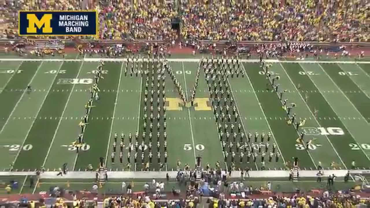 Michigan State Hd Wallpaper Pregame The Michigan Marching Band 2014 Youtube