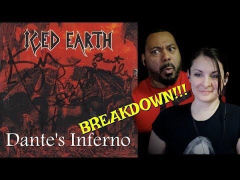 Iced Earth Dante's Inferno Reaction!!!