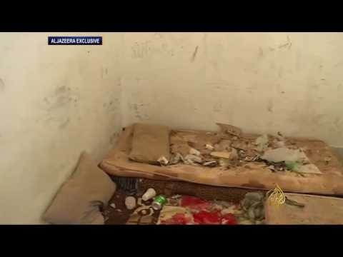 الجزيرة تدخل أحد سجون تنظيم الدولة بسرت