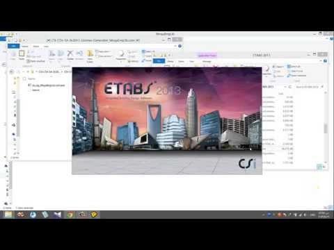 csi etabs 2015 license generator crack