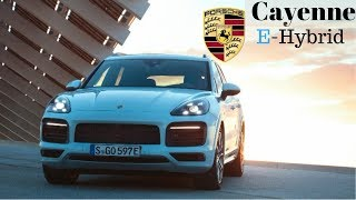 2019 Porsche Cayenne E-Hybrid rocketing the SUV to 100km/h in 4.7s.and to a top speed of 252km/h