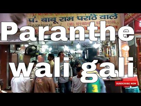 world famous Paranthe wali gali and daulat ki chaat in delhi | Holiday Vlogs