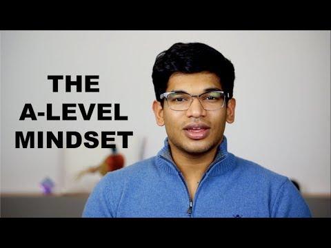 A LEVEL MINDSET and MOTIVATION