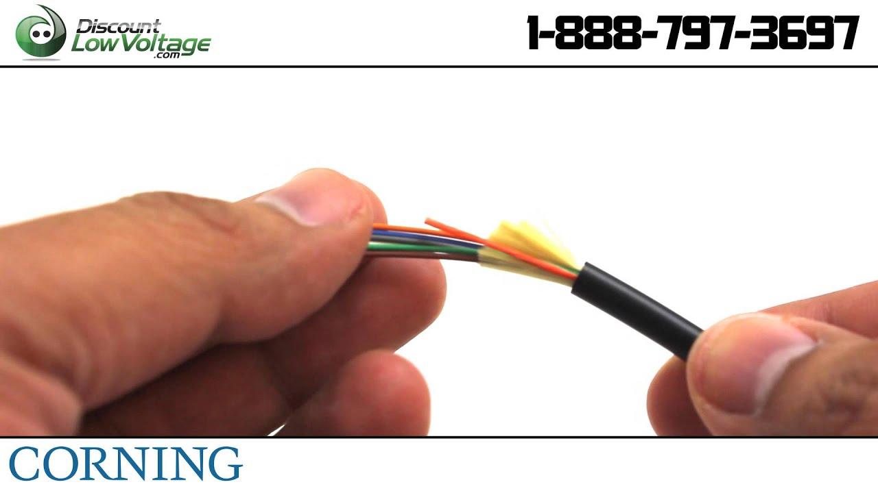 Corning 006E8P-31131-29 Freedm One Singlemode Plenum Fiber Cable ...