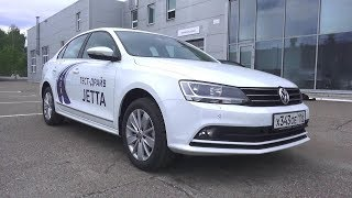 2017 Volkswagen Jetta 1.6 MPI. AT Highline. Start Up, Engine, and In Depth Tour.