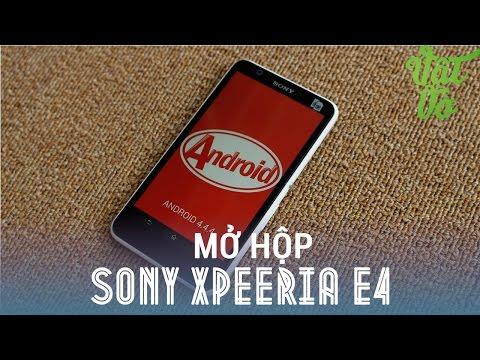"""[Review dạo] Mở hộp & đánh giá nhanh Sony Xperia E4: 2tr990 màn hình 5"""", Android 4.4.4"""