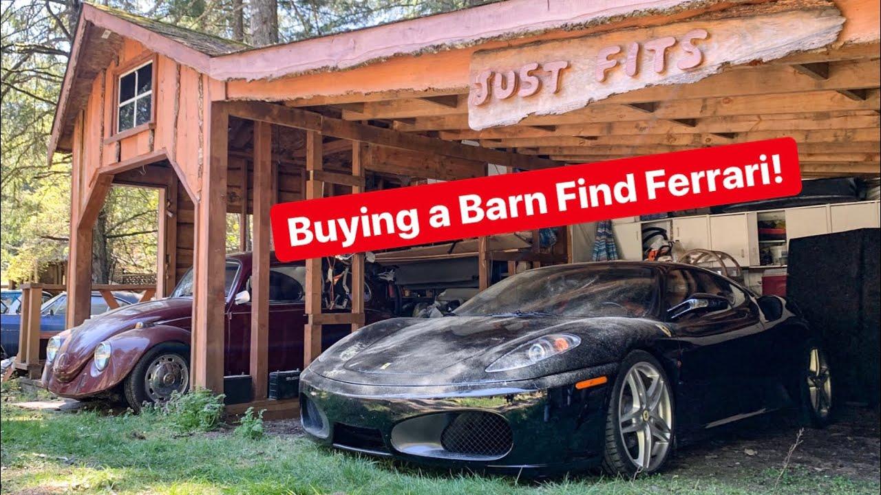 BUYING A DIRTY BARN FIND FERRARI F430! *SO CHEAP!* - YouTube