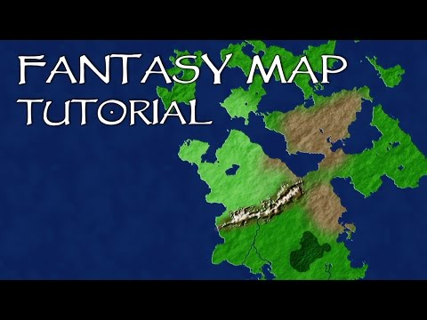 How To Create a Fantasy Map in Photoshop - Response to Shadiversity