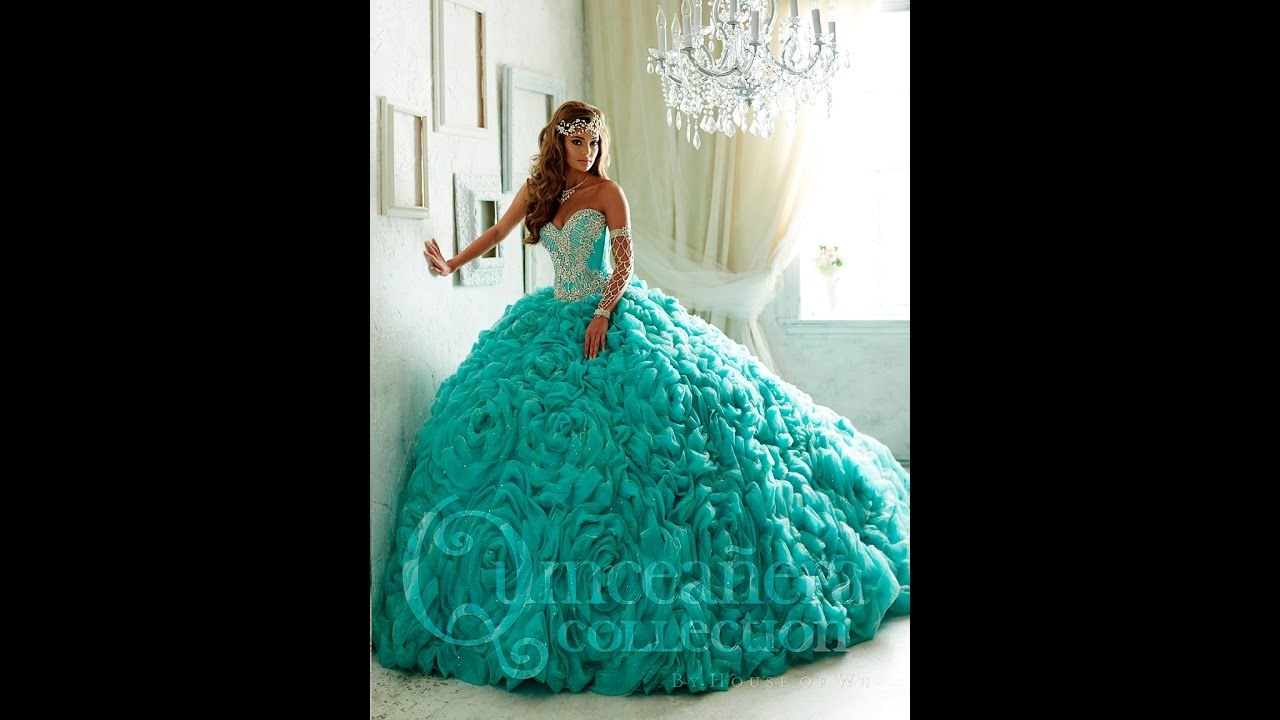 4c70037dfb3 House of Wu Quinceañera Dress Style  26800 - YouTube
