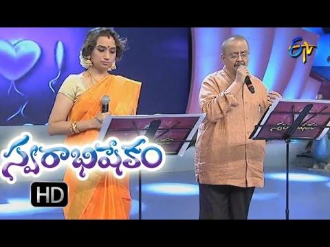 Tanivi teeralede song | S P balu & kalpana Performance | Swarabhishekam | 9th Oct 2016 | ETV Telugu