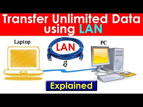 [Hindi] How To Transfer Data From One PC To Another Using LAN Cable | Explained