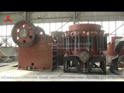 The Zhongxin heavy industry workshop display