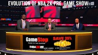 Evolution of the NBA 2K Pre-Game Show (NBA 2K15 -  NBA 2K19)