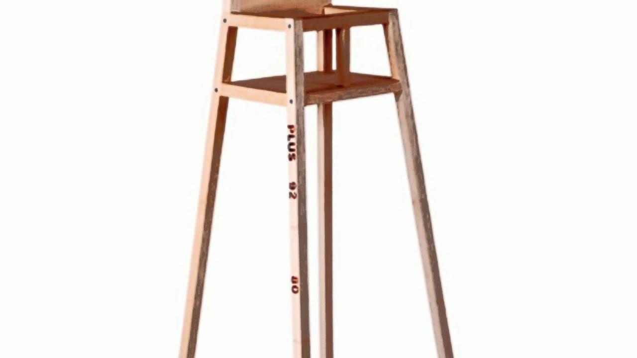 Droog Design Highchair by Maartje Steenkamp For Kids