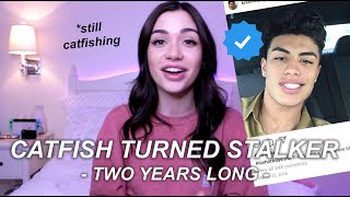 FAMOUS CATFISH TURNED STALKER (with proof) | STORYTIME