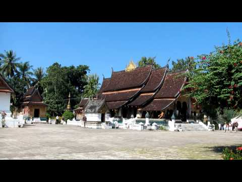 Tour of Wat Xieng Thong, Luang Prabang, Laos part 1