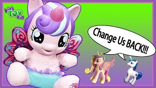 Baby Flurry Heart SHRINKS Princess Cadance and Shining Armor!!